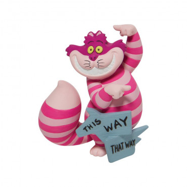 "MINI CHESHIRE CAT ""THIS WAY"" - DISNEY SHOWCASE"