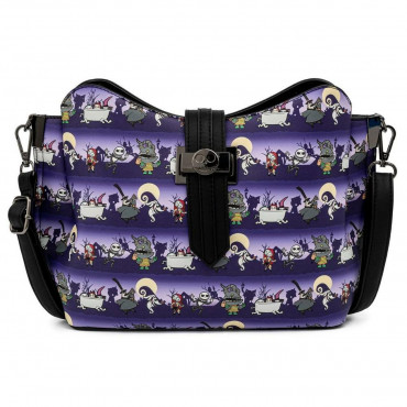 BORSA A TRACOLLA NIGHTMARE BEFORE CHRISTMAS - DISNEY LOUNGEFLY