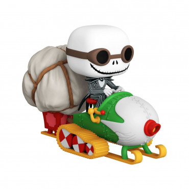 FUNKO POP RIDES! 104 - NIGHTMARE BEFORE CHRISTMAS - JACK IN SNOWMOBILE