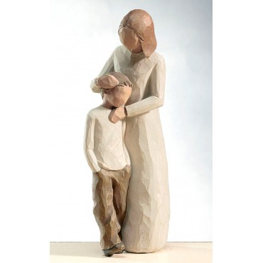 STATUETTA WILLOW TREE MADRE E FIGLIO