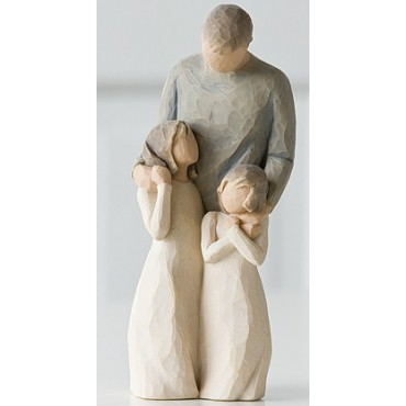 STATUETTA WILLOW TREE LE MIE FIGLIE