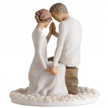 CAKE TOPPER WILLOW TREE VICINO A TE